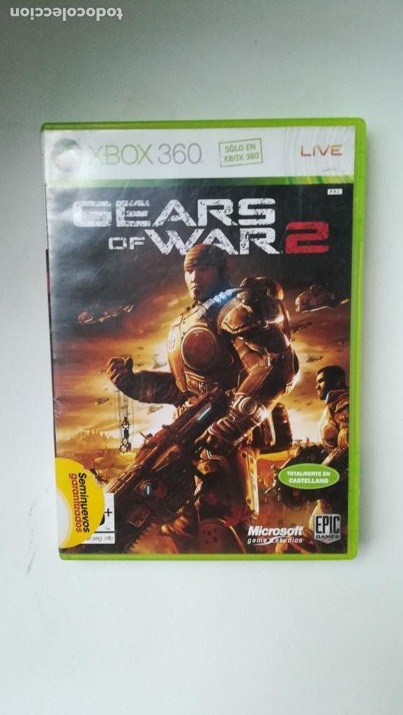LIQUIDACIÓN FINAL DE JUGUETES! XBOX 360. GEARS OF WARS 2 (Juguetes - Videojuegos y Consolas - Otros descatalogados)