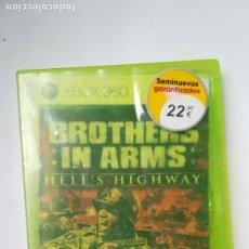 Videojuegos y Consolas: LIQUIDACIÓN FINAL DE JUGUETES! XBOX 360. BROTHERS IN ARMS. Lote 206990492
