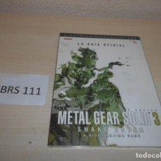 Videojuegos y Consolas: GUIA METAL GEAR SOLID 3 , CASTELLANO , PRECINTADA. Lote 206998587