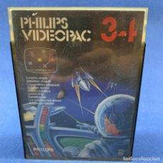 Videojuegos y Consolas: JUEGO PARA PHILIPS VIDEOPAC 34 - LOS SATÉLITES NOS ATACAN CON CAJA E INSTRUCCIONES. Lote 207001622