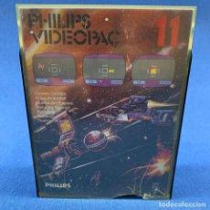 Videojuegos y Consolas: JUEGO PARA PHILIPS VIDEOPAC 11 - GUERRA ESPACIAL - CON CAJA E INSTRUCCIONES. Lote 207002280