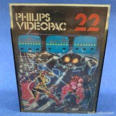 Videojuegos y Consolas: JUEGO PARA PHILIPS VIDEOPAC 22 - MONSTRUO ESPACIAL - CON CAJA E INSTRUCCIONES. Lote 207003185