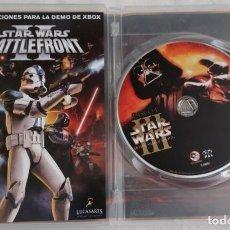 Videojuegos y Consolas: STAR WARS LA VENGANZA DE LOS SITH , 2 CD MASTERIZADA DIGITALMENTE. Lote 207192237