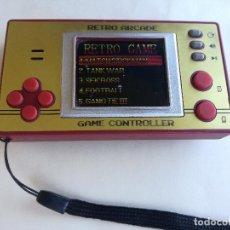 Videojuegos y Consolas: MAQUINITA RETRO ARCADE GAME CONTROLLER MODEL Nº 8059 FUNCIONANDO PERFECTAMENTE. Lote 207291327