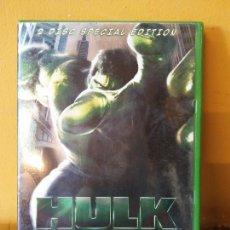 Videojuegos y Consolas: DVD. VIDEO JUEGO. HULK 2 DISC SPECIAL EDITION. UNIVERSAL. Lote 207468666