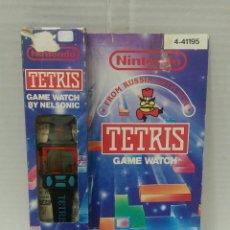Videogiochi e Consoli: NINTENDO TETRIS GAME WATCH. RELOJ. NUEVO EN CAJA. 1990.. Lote 208167153