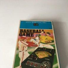 Videojuegos y Consolas: MAQUINITA BASEBALL GAME WATCH RECREATIVA, ELECTRONIC GAME,BÉISBOL GAME WATCH, NINTENDO, BANDAI, SEGA. Lote 208183601