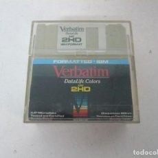 Videojuegos y Consolas: 12 DISKETTES DE ALTA DENSIDAD VERBATIM / 3.5 HD / IBM PC / RETRO VINTAGE / DISQUETES. Lote 208388032