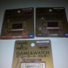 Videojuegos y Consolas: 3 LLAVEROS GAME WATCH. Lote 210315840