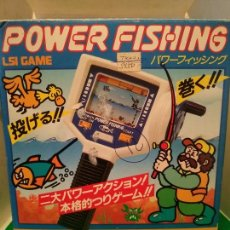 Videojuegos y Consolas: POWER FISHING LSI GAME WATCH BANDAI 1984. Lote 210343931