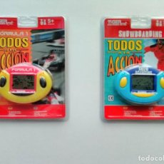 Videojuegos y Consolas: LOTE 2 CONSOLAS FORMULA 1 Y SNOWBOARDING - NUEVAS A ESTRENAR!!! - ERICTOYS. Lote 210371183