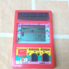 Videojuegos y Consolas: MAQUINITA SOLAR JUEGO CIRCUS JUMBO CASIO CG-41 1984.FUNCIONA.MADE IN JAPAN.TIPO GAME WATCH.. Lote 210434438