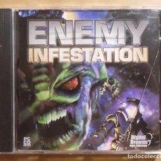 Videojuegos y Consolas: PC / CD-ROM - JUEGO: ENEMY INFESTATION - DIGITAL DREAMS -. Lote 210782191