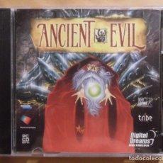 Videojuegos y Consolas: PC / CD-ROM - JUEGO: ANCIENT EVIL - DIGITAL DREAMS -. Lote 210782329