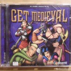Videojuegos y Consolas: PC / CD-ROM - JUEGO: GET MEDIEVAL - DINAMIC MULTIMEDIA -. Lote 210783594