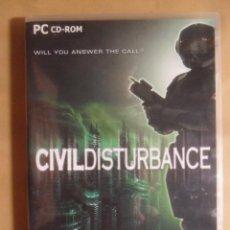 Videojuegos y Consolas: PC / CD-ROM - JUEGO: CIVIL DISTURBANCE - ALTENS. Lote 210820069