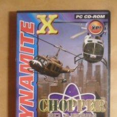 Videojuegos y Consolas: PC / CD-ROM - JUEGO: DYNAMITE X - CHOPER 3D AIRSIM -. Lote 210820322
