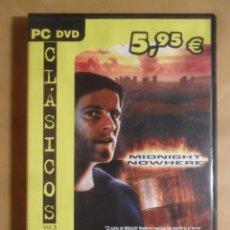Videojuegos y Consolas: PC / DVD - JUEGO: MIDNIGHT NOWHERE - FRIEND WARE -. Lote 210821822
