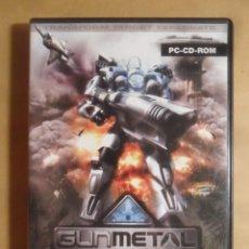 Videojuegos y Consolas: PC / CD-ROM - JUEGO: GUNMETAL - WAR TRANSFORMED. Lote 210823136