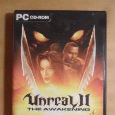 Videojuegos y Consolas: PC / CD-ROM - JUEGO: UNREAL II - THE AWAKENING - ATARI. Lote 210825610