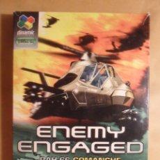 Videojuegos y Consolas: PC / CD-ROM - JUEGO: ENEMY ENGAGED - RAH-66 COMANCHE VS. KA-52 HOKUM - CON MANUAL DEL PILOTO. Lote 210826860
