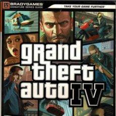 Videojuegos y Consolas: GUÍA GRAND THEFT AUTO IV EN ESPAÑOL - TIM BOGENN Y RICK BARBA. Lote 210833396
