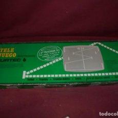 Videojuegos y Consolas: MAGNIFICA CONSOLA ANTIGUA DEL 1977 TELE JUEGO FURTEC 6. Lote 210977559