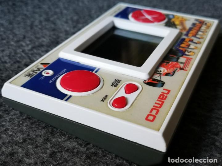 Videojuegos y Consolas: consola portatil recreativa NAMCO FINAL LAP 1987 varie original - Foto 2 - 211274870