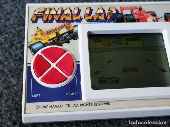 Videojuegos y Consolas: consola portatil recreativa NAMCO FINAL LAP 1987 varie original - Foto 5 - 211274870