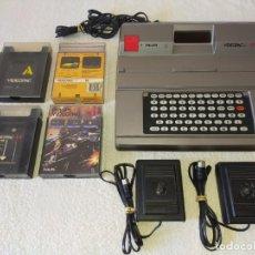 Videojuegos y Consolas: CONSOLA PHILIPS VIDEOPAC G7400 - CON 2 JOYSTICKS - 4 CARTUCHOS DE JUEGO. Lote 211419831