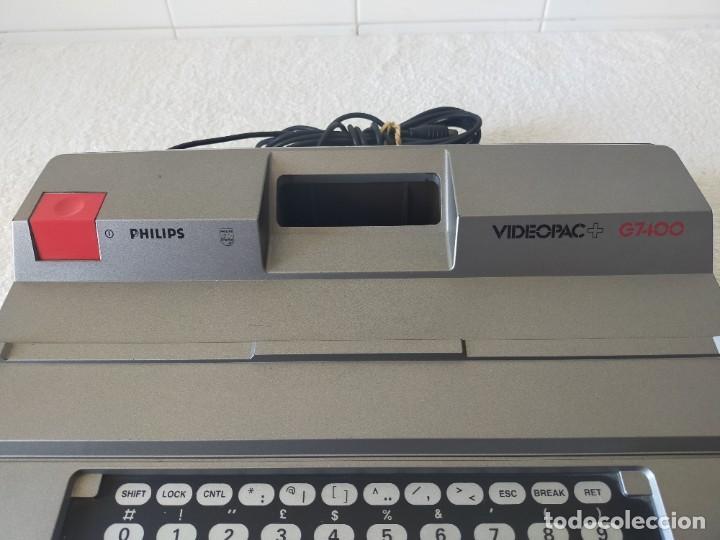 Videojuegos y Consolas: CONSOLA PHILIPS VIDEOPAC G7400 - CON 2 JOYSTICKS - 4 CARTUCHOS DE JUEGO - Foto 5 - 211419831