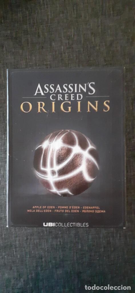 ASSASSINS CREED ORIGINS APPLE DEL EDÉN COSPLAY XBOX PS4 LUZ LED. NUEVO (Juguetes - Videojuegos y Consolas - Otros descatalogados)