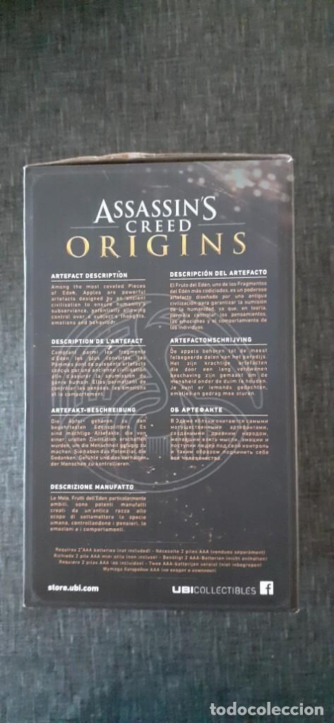 Videojuegos y Consolas: Assassins Creed Origins Apple del Edén Cosplay Xbox PS4 Luz Led. NUEVO - Foto 2 - 211525871
