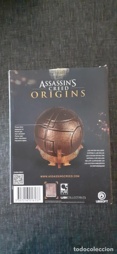 Videojuegos y Consolas: Assassins Creed Origins Apple del Edén Cosplay Xbox PS4 Luz Led. NUEVO - Foto 3 - 211525871