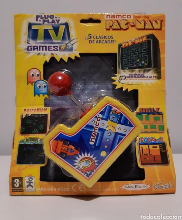 MINI CONSOLA RETRO ARCADE. PAC MAN (Juguetes - Videojuegos y Consolas - Otros descatalogados)