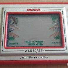 Jeux Vidéo et Consoles: MAQUINITA PORTATIL , GAME & WATCH MICKEY MOUSE , DE NINTENDO , WIDE SCREEN , BUEN ESTADO. Lote 212178780
