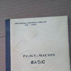 Videojuegos y Consolas: PROGRAMACION EN BASIC VALERIO CASERO 300 GRS CM7. Lote 212415848