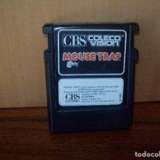 Videojogos e Consolas: MOUSE TRAP - CONSOLA CBS COLECO VISION. Lote 212496037