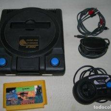 Jeux Vidéo et Consoles: RARA CONSOLA TERMINATOR 2 8 BIT CON CARTUCHO DE JUEGOS - FUNCIONANDO* -. Lote 212557531
