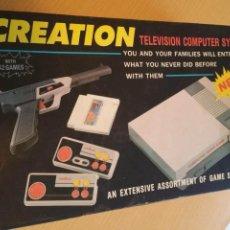 Videojuegos y Consolas: CONSOLA CREATION TV GAME COMPUTER-TIENE TODOS LOS ACCESORIOS PERO NO FUNCIONA-NECESITA REPARACIÓN. Lote 212637778