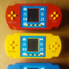 Videojuegos y Consolas: LOTE POP STATION MAQUINITAS DE COLORES GAME WATCH LCD. CON 99 JUEGOS. FUNCIONAN. CON SONIDO. BB-3030. Lote 212886210