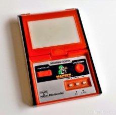 Videojuegos y Consolas: NINTENDO CONSOLA MAQUINITA GAME WATCH PANORAMA SCREEN MARIO'S (FUNCIONA PERFECTAMENTE). Lote 213331270