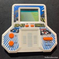 Videojuegos y Consolas: MÁQUINITA JUEGO ELECTRÓNICO AÑOS 80 TRONICA CR 45 FÓRMULA 1 TIPO GAME & WATCH. Lote 213644545