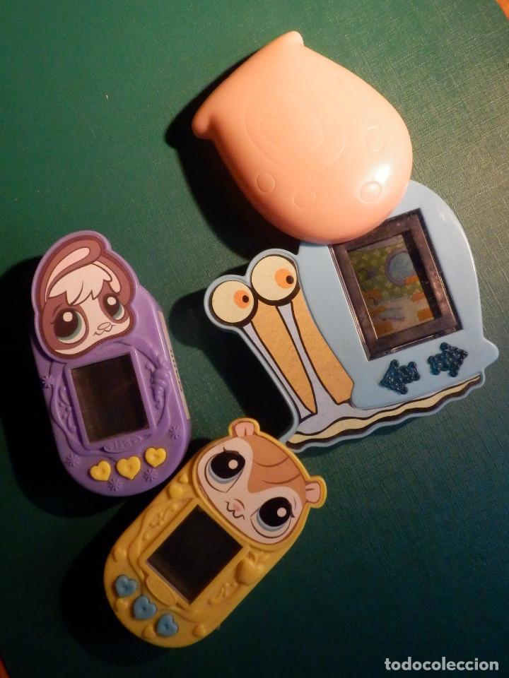 3 MAQUINITAS ELECTRÓNICAS - VIDEPJUEGOS MCDONALD´S (Juguetes - Videojuegos y Consolas - Otros descatalogados)
