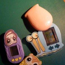 Videojuegos y Consolas: 3 MAQUINITAS ELECTRÓNICAS - VIDEPJUEGOS MCDONALD´S. Lote 214393107