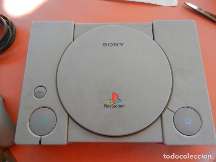 Videojuegos y Consolas: ANTIGUA CONSOLA PLAYSTATION CLASSIC - 2 MANDOS - TARJETA MEMORÍA - CABLE - FUNCIONA - VER FOTOS - Foto 13 - 214621986