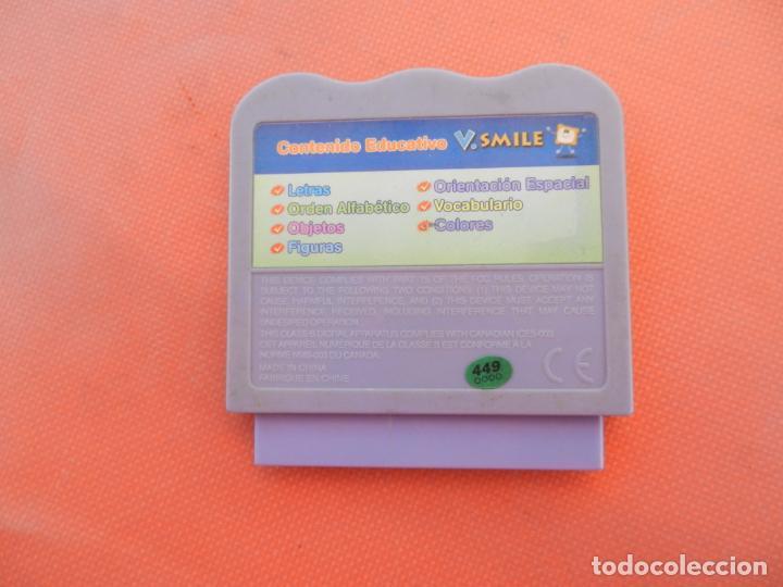 Videojuegos y Consolas: VTECH V.SMILE - AVENTURAS EN EL PARQUE ALFABETO - CARTUCHO. - Foto 2 - 278164948