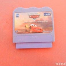 Videojuegos y Consolas: VTECH V.SMILE - DISNEY - CARS ACELERA EL MOTOR EN RADIADOR SPRINGS - CARTUCHO.. Lote 214640776