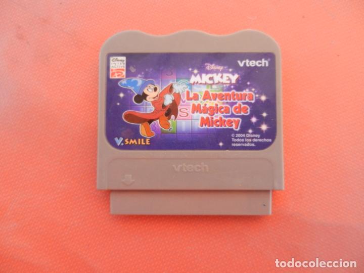 VTECH V.SMILE - DISNEY - MICKEY LA AVENTURA MÁGICA DE MICKEY - CARTUCHO. (Juguetes - Videojuegos y Consolas - Otros descatalogados)