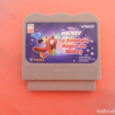 Videojuegos y Consolas: VTECH V.SMILE - DISNEY - MICKEY LA AVENTURA MÁGICA DE MICKEY - CARTUCHO.. Lote 214641181